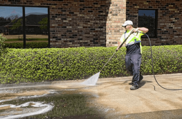 commercial concrete cleaning in smyrna